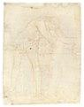 Baksida på teckning, 1760-tal - Skoklosters slott - 99357.tif