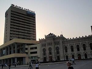 Azerbaijan Railways - Baku Railway Station