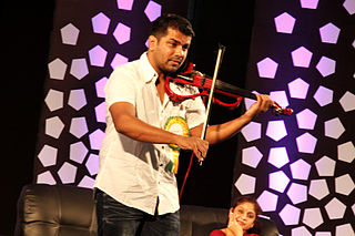 Balabhaskar Indian musician