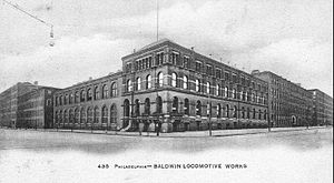 Baldwin Locomotive Works - Baldwin Locomotive Works c. 1900