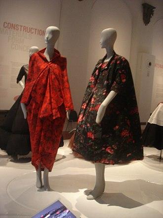 Balenciaga - Balenciaga dresses on display in Florence, Italy