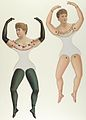 Ballerina and Bloomer Girls (Prima Donna) Paper Dolls MET DP849910.jpg