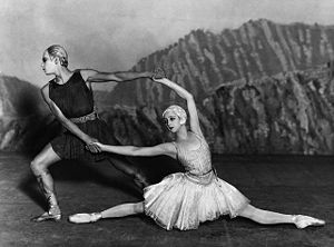 Apollo (ballet) - Alexandra Danilova and Serge Lifar