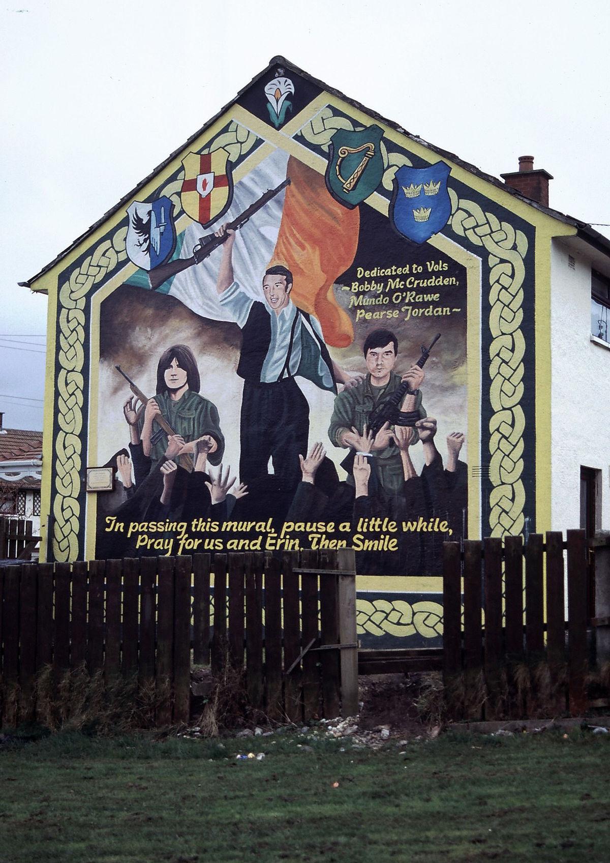 Murals in northern ireland wikipedia for Mural ireland