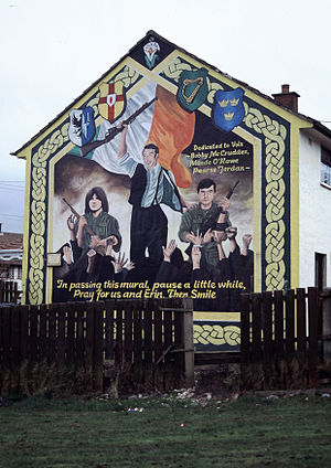 Murals in Northern Ireland - Image: Ballymurphy