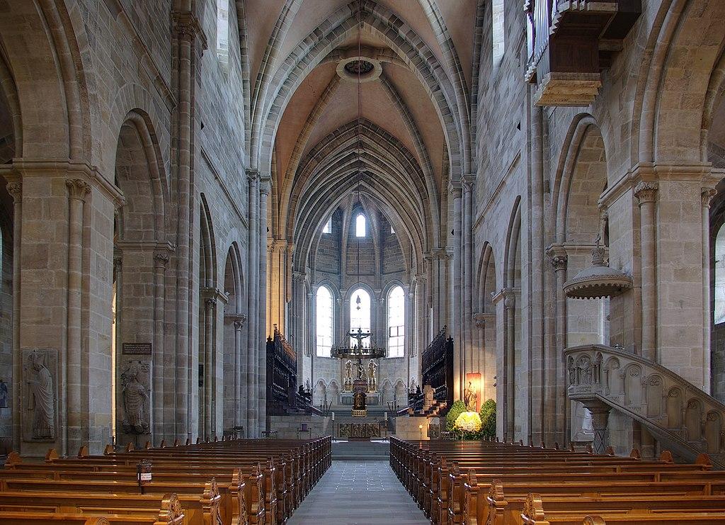 Bamberger Dom innen, Blick zum Westchor