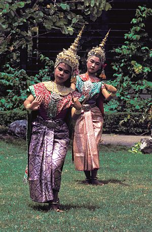 Dance in Thailand - Thai dance, 1965