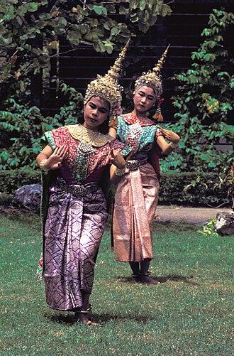 Dance in Thailand - Thai dance, 1965