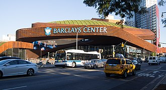 UFC 208 - Barclays Center hosts games for teams like the Brooklyn Nets and New York Islanders.