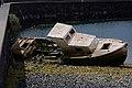 Barco abandonado en El charco de San Ginés.jpg
