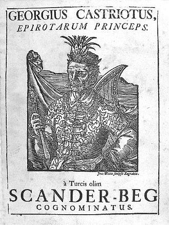 Arbëreshë people - Skanderbeg led 2,500 Albanian soldiers into the Kingdom of Naples in 1458