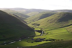 Barrowburn and Windyhaugh on the Upper Coquet - geograph.org.uk - 378485.jpg