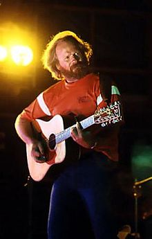 McGuire performing live in 1979