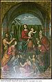 Basilica Sant'Eufemia (Milan) Madonna con Bambino e Santi di Marco d'Oggiono Foto di Maurizio OM Ongaro DSCN9138 Part.jpg