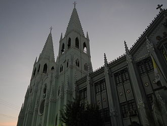 Quiapo, Manila - Basilica of San Sebastian