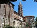 Basilique Saint-Sernin - Vue d'ensemble côté sud -1.JPG