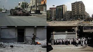 Battle of Aleppo (2012–2016) Military confrontation in Aleppo (2012–2016)