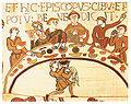 Bayeux Tapestry meal.