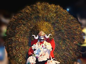 Sirsi, Karnataka - Bedara Vesha artist