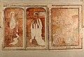 Begijnhofkerk, muurschildering , H.Cecilia , H.Lucia en H.Franciscus van Assisi - 373414 - onroerenderfgoed.jpg