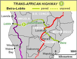Beira–Lobito Highway road