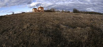 Belyovsky District - Ruins of a church in the selo of Temryan in Belyovsky District