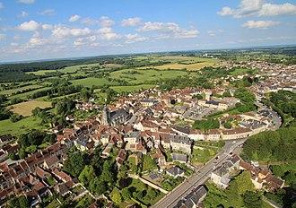 Bellême - An aerial view of Bellême