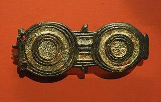 Plaque de ceinture D 25086