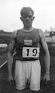 Bengt Sjöstedt Finnish hurdler