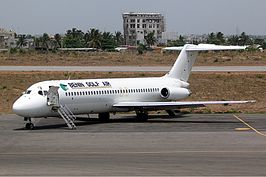 Benin Golf Air McDonnell Douglas DC-9-32 Mutzair.jpg