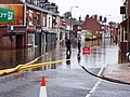 Bentley High Street During The 2007 Floods - geograph.org.uk - 1058290.jpg