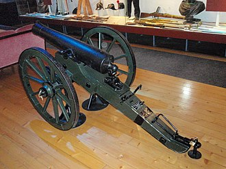 Mountain gun - Image: Bergkanon M1848 side view
