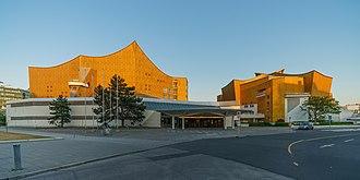 Hans Scharoun - Image: Berlin Philharmonie asv 2018 05 img 2