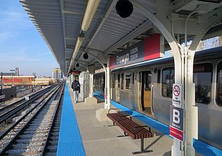 "Berwyn station (CTA) Chicago ""L"" station"