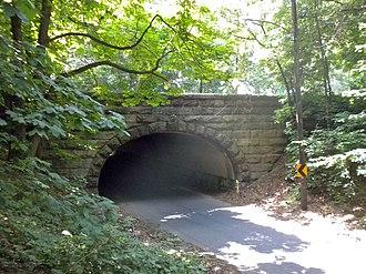 National Register of Historic Places listings in West Philadelphia - Image: Better Belmont Bridge