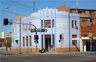 Bexley, New South Wales - Former Commonwealth Bank, Forest Road