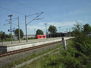 Salzwedel station - The platforms of Salzwedel station