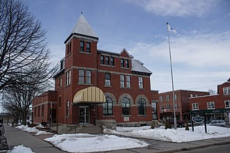 Acton Vale, Quebec - Municipal library of Acton Vale