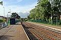 Bidston-bound platform, Gwersyllt railway station (geograph 4024817).jpg