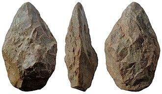Hand axe - Image: Bifaz amigdaloide