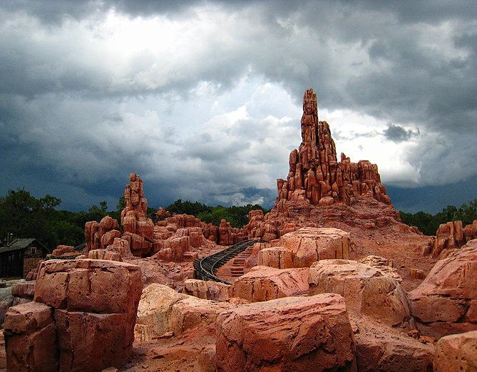 English: Big Thunder Mountain Railroad, Magic ...