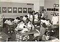 Bill Enking at Grant Heights' School, Tokyo (1951 by Bill Enking).jpg