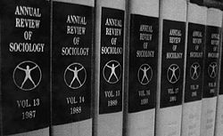 The Annual Review of Sociology series, one of Annual Reviews' 41 series