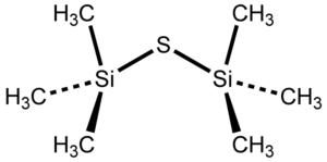Bis(trimethylsilyl)sulfide - Image: Bis(trimethylsilyl)s ulfide