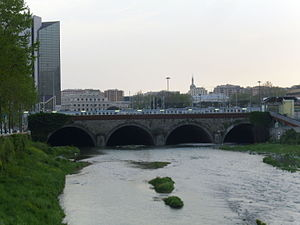 Bisagno (stream) - The stream before Genova Brignole