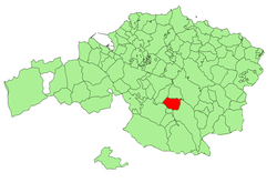 Location in Biscay
