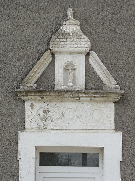 Blémerey (M-et-M) dessus de porte maison