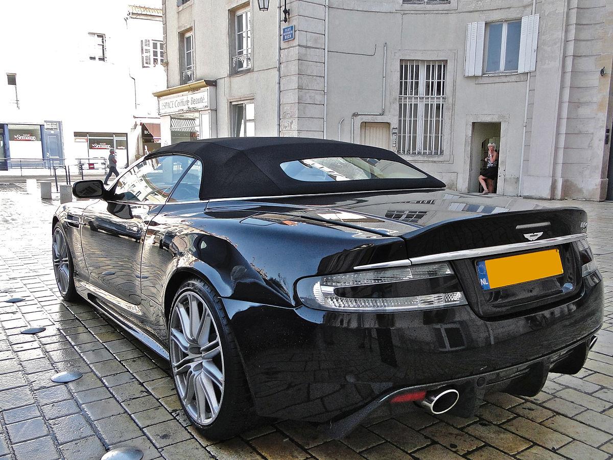 File Black Aston Martin Dbs Volante In Nancy Jpg Wikimedia Commons