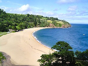 Blackpool Sands, Dartmouth - Blackpool Sands