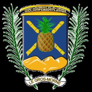 Gros-Morne, Martinique - Image: Blason Gros Morne